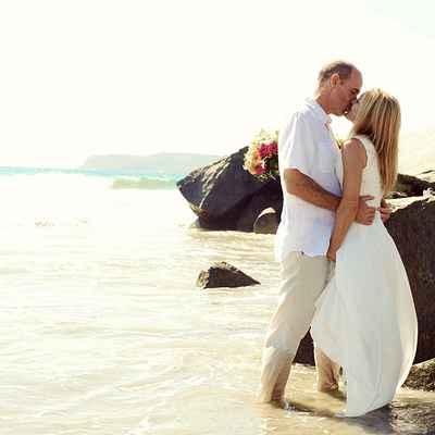 Beach summer white long wedding dresses
