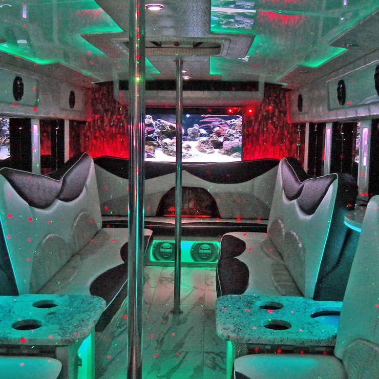 Austin's Luxury Limo Bus Service