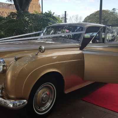 Gold wedding transport