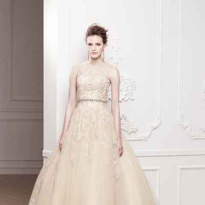 Ivory closed wedding dresses
