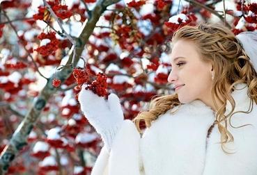 Winter long wedding hairstyles