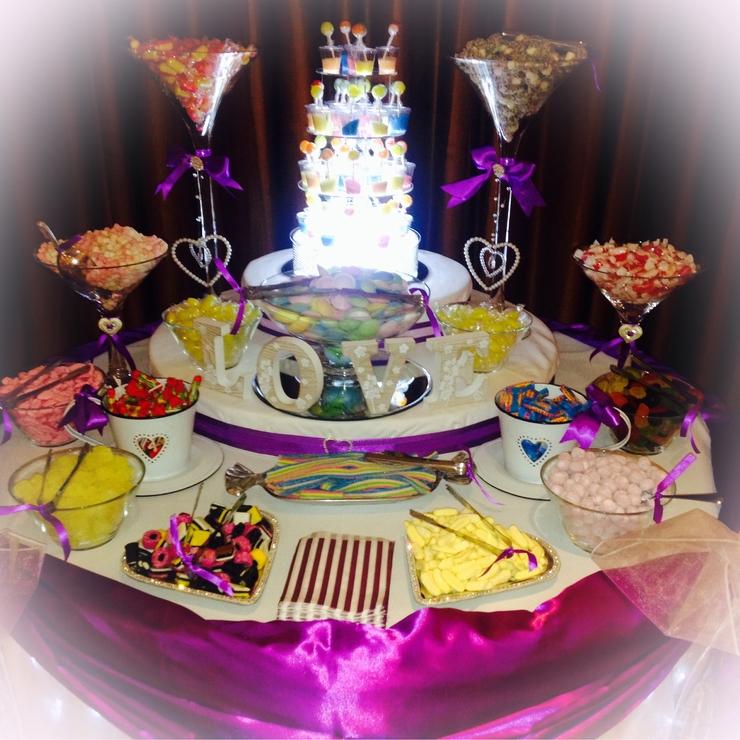 Wedding Sweet Buffets