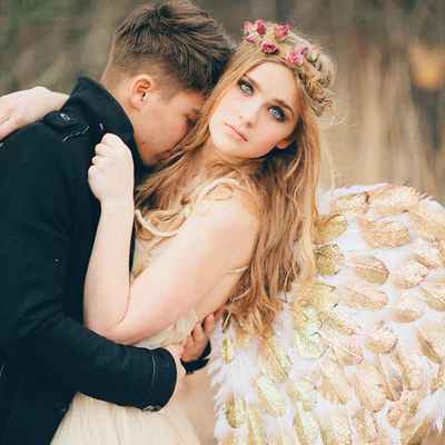 Themed gold real weddings