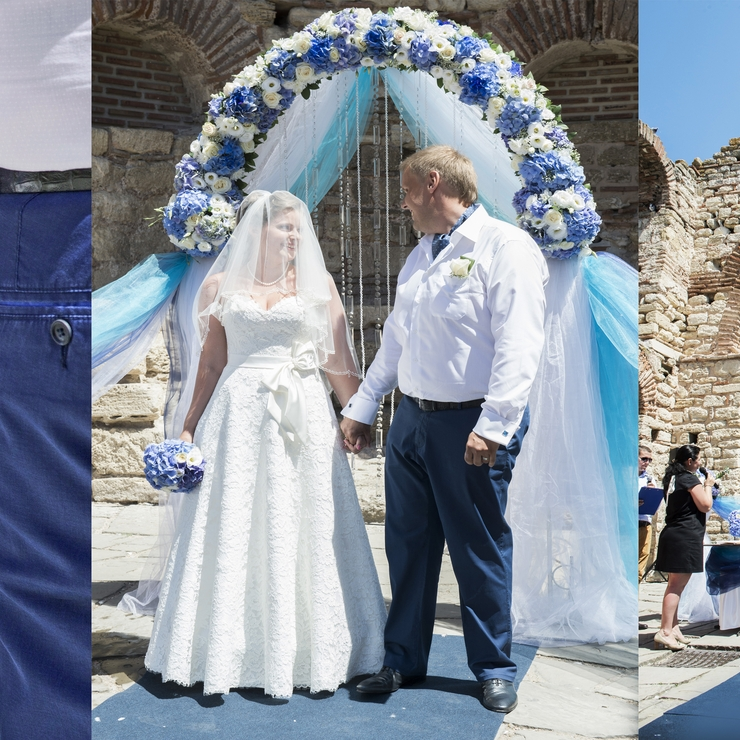 Official wedding in Nessebar