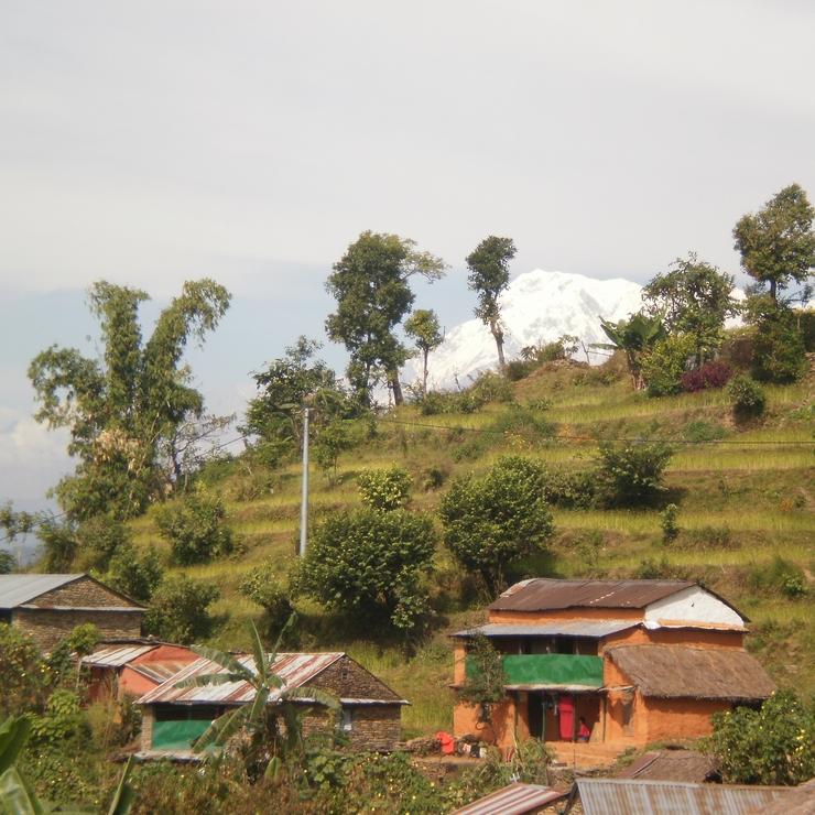 Nepal hiking