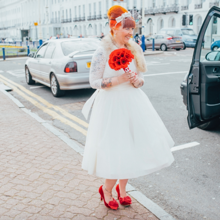 Rockabilly Pier Wedding 2014