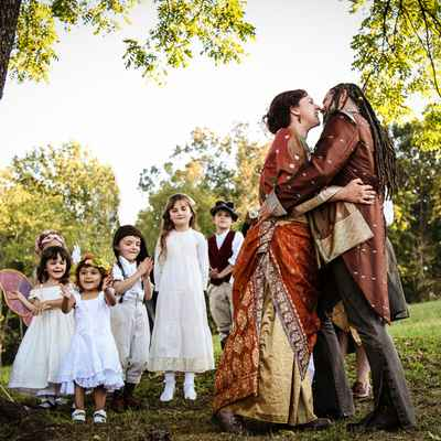 Themed wedding photo session ideas