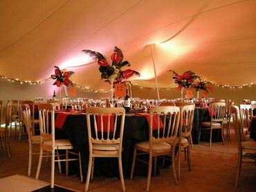Wedding reception decor
