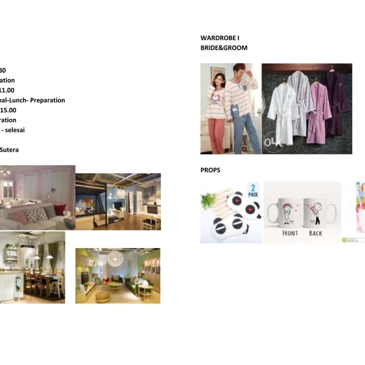 prewedding draft concept for felix&refani