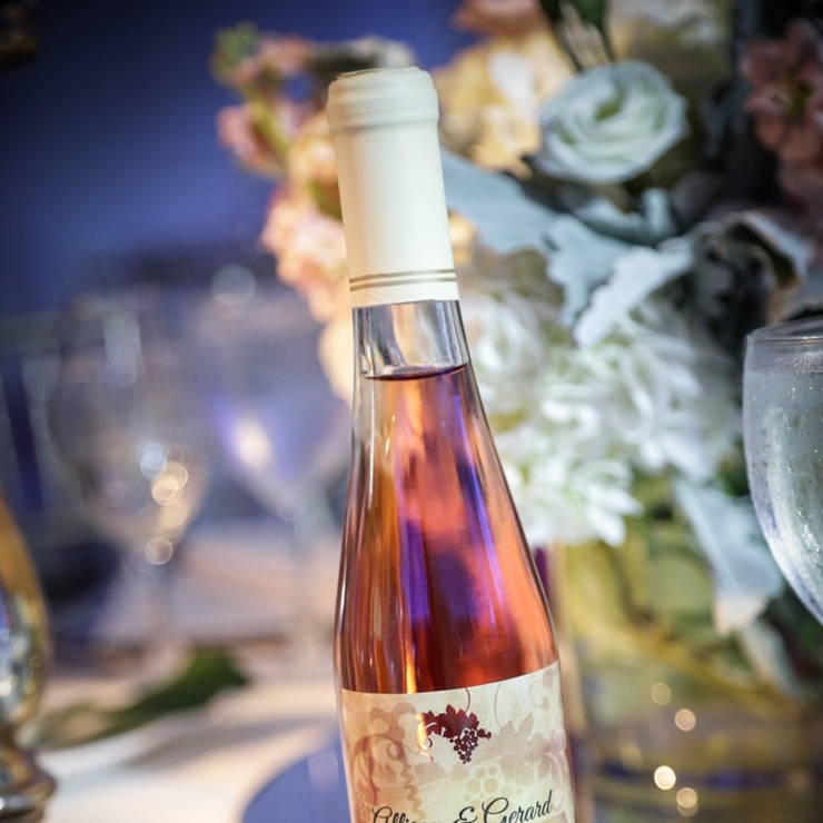 Custom Wine Bottle Favors