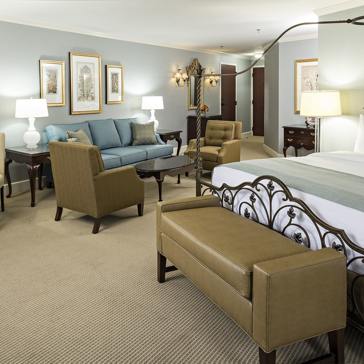Over-sized Comfortable Guestrooms