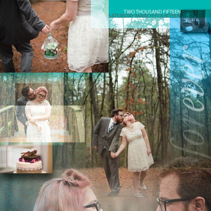 Capture the essence of your wedding ina single photo that can be displayed andnot hidden in a book