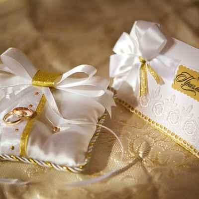 Autumn gold wedding invitations