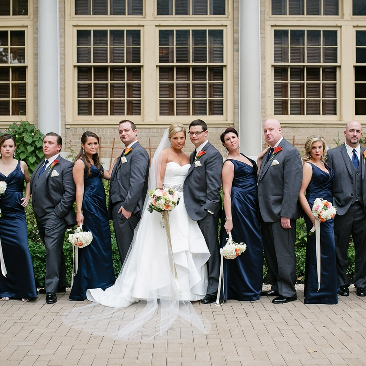 Chelsey and Brian's Wedding at Westmoreland Club by Danielle Coons Photography