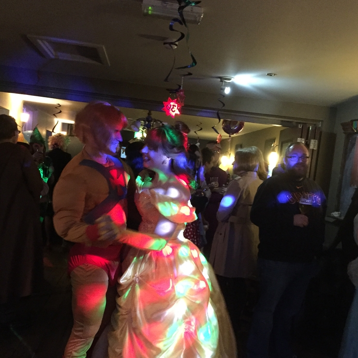 30th character themed disco