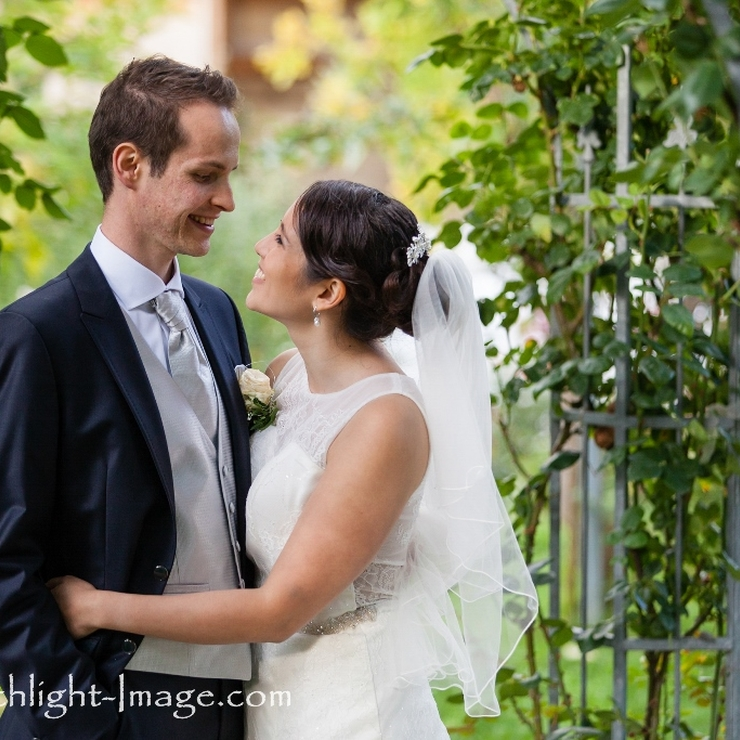 Classic Garden Wedding in Germany