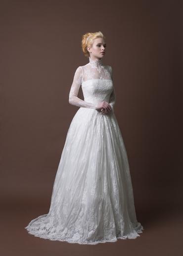 English corset wedding dresses