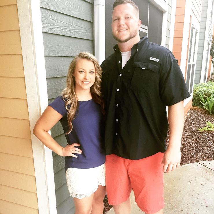Courtney and Matt Hatcher