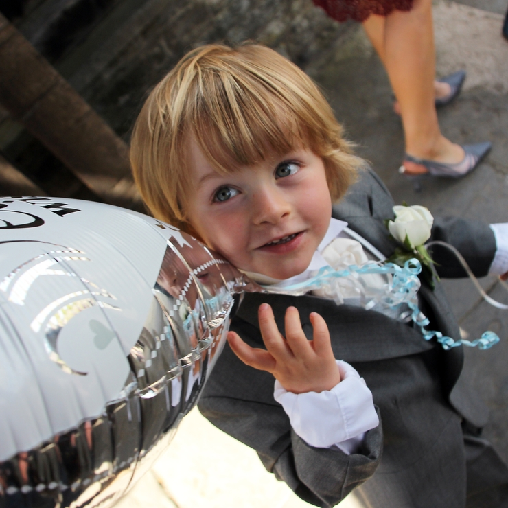 Kayleigh and Liam's wedding