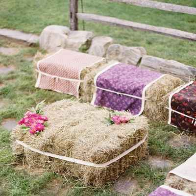 Rustic autumn photo session decor