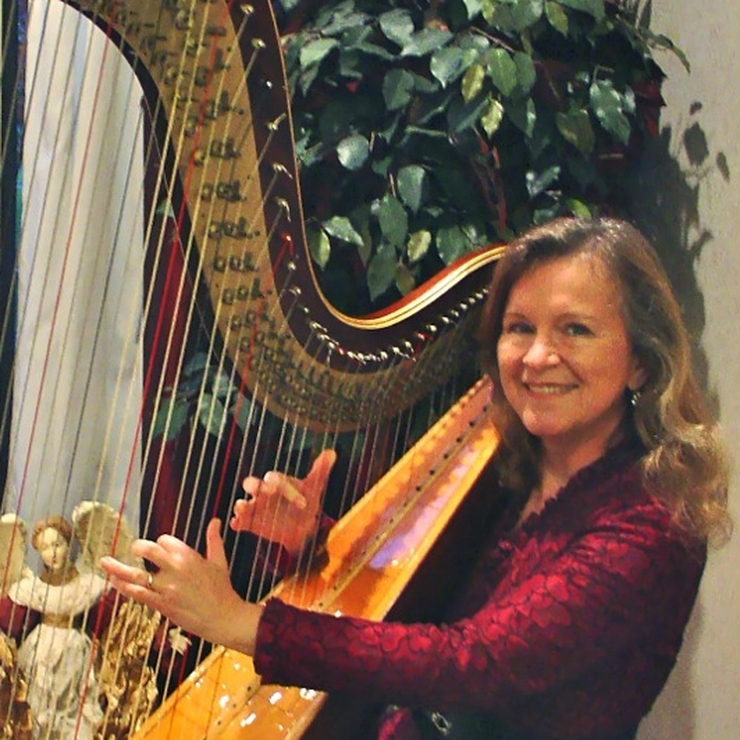Holiday Harpist