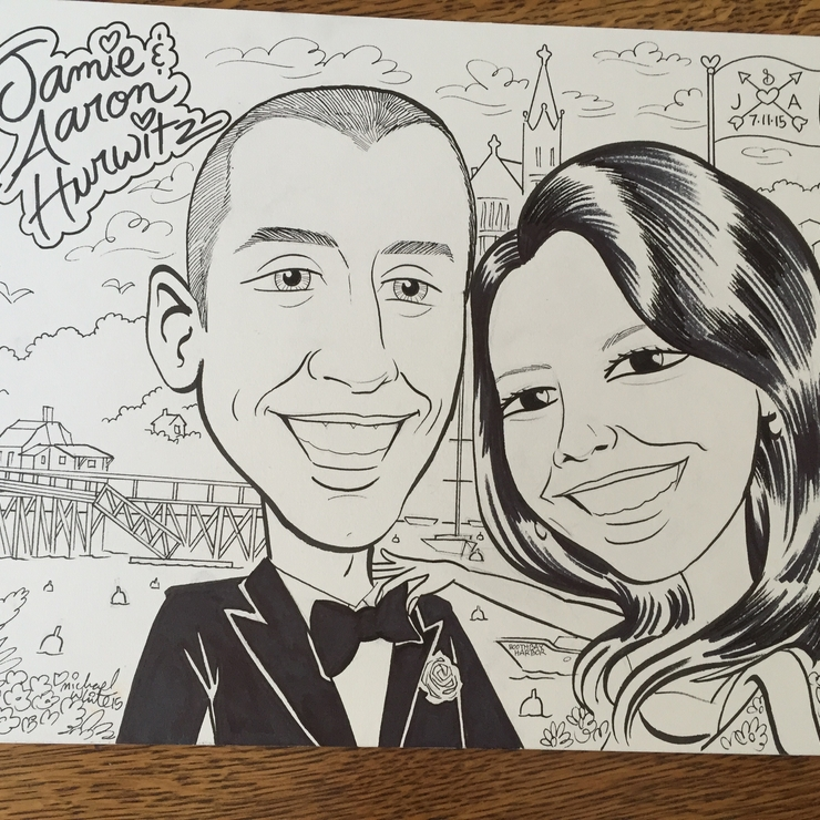 Misc. caricatures from events.