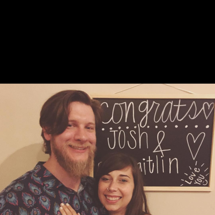 Kaitlin and Josh Feathers