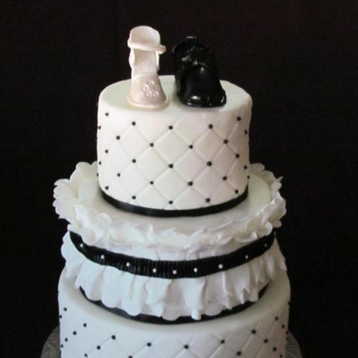 Brittany's Wedding Cake