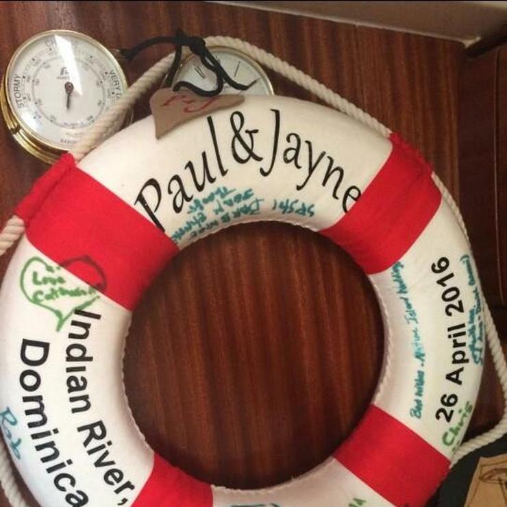 "Jayne and Paul - The ""sailing love birds"" Indian River Wedding"
