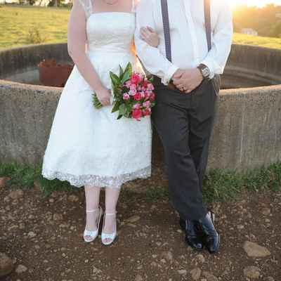 Outdoor black short wedding dresses