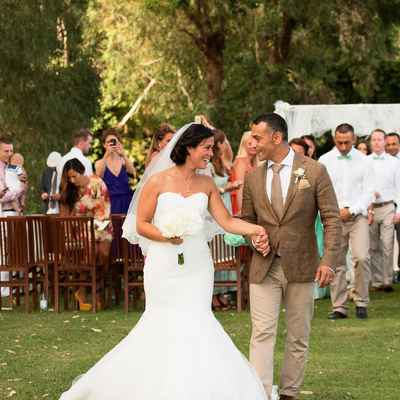 Rustic white short wedding dresses