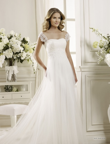 Straight wedding dresses