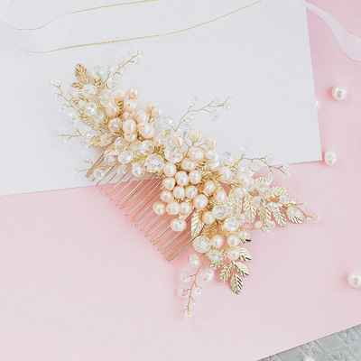 Ivory wedding headpieces, veils, cover-ups & brooches