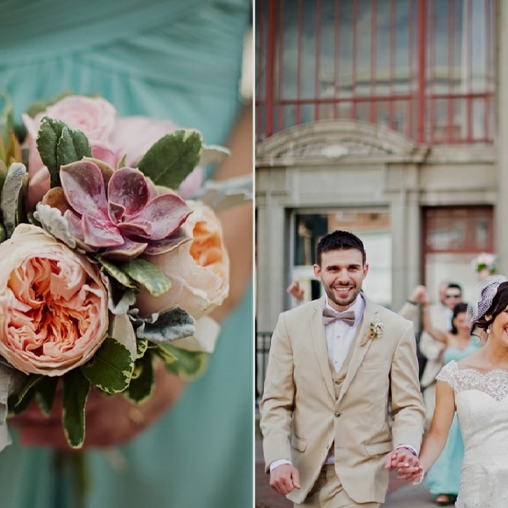 Pastels for Spring at RiverStone Manor Wedding