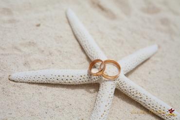 Marine wedding rings