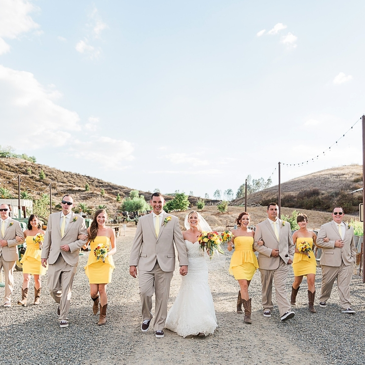 Peltzer Pumpkin Farm wedding