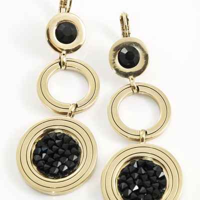 Black bracelets, earrings, necklaces & other jewellery
