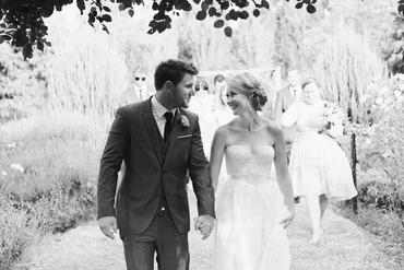 Outdoor open wedding dresses