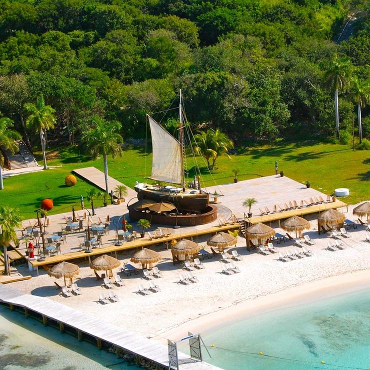 Isla Mujeres Mayan Wedding and yacht location