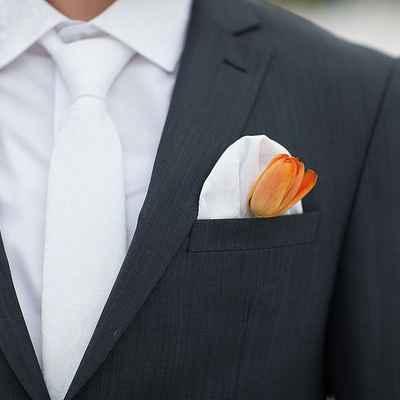 Orange buttonhole