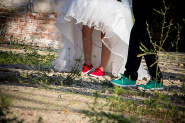 Outdoor wedding shoes
