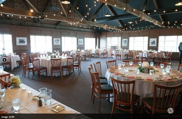 Themed wedding reception decor