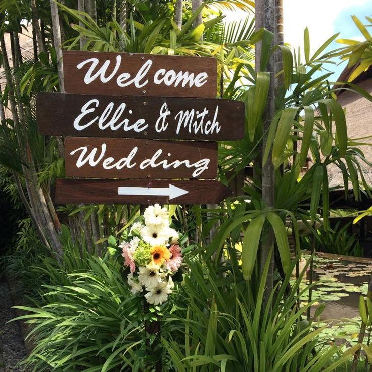 Ellie & Mitch's Wedding, Canggu