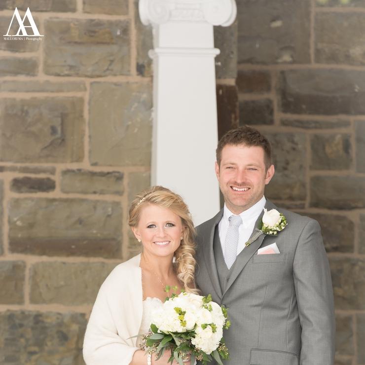 Ashley + Luke Winter Wedding