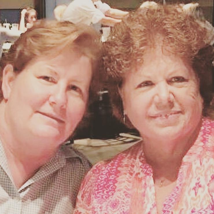 Pat and Donia