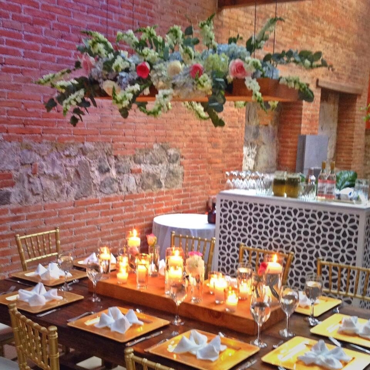 Ezenario's wedding decor