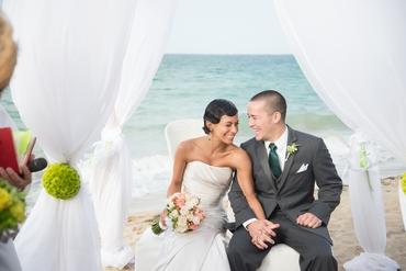 Beach summer real weddings