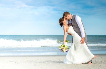 Beach white long wedding dresses
