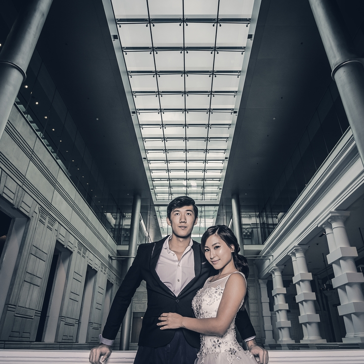 Victoria Hall Pre-wedding