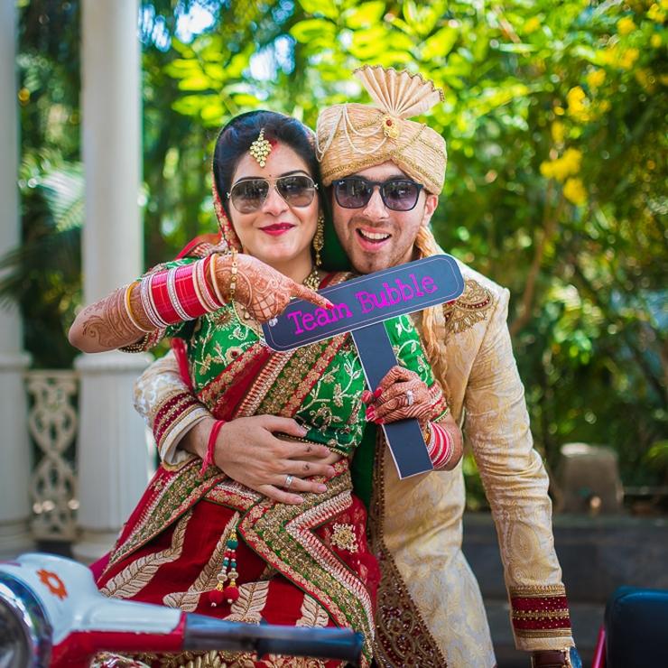 A romantic NRI wedding